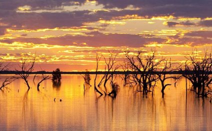Sunset Strip at Lake Menindee