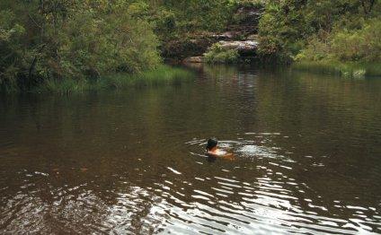 Ingar Waterhole camping area