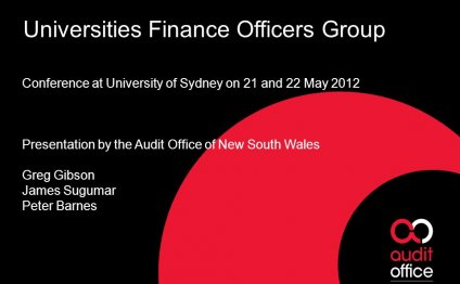 Universities Finance Officers